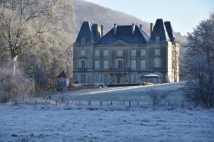 Le château à Noël (Côte-d'Or)