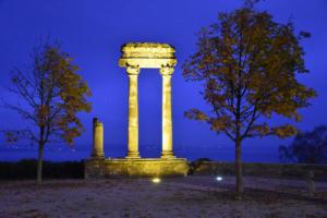 Les colonnes romaines de Nyon